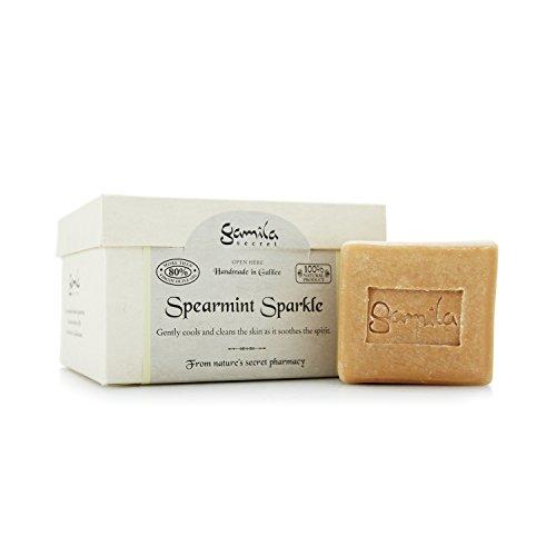 Gamila Secret - Cleansing Bar - Spearmint Sparkle (For Combination To Oily Skin) 115G - Soins De La Peau