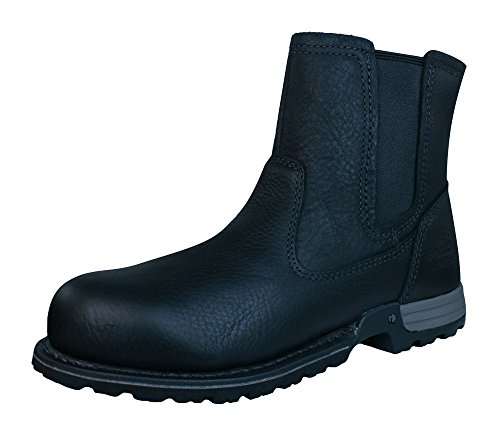 "Caterpillar Freedom Pull On Steel Toe S3 6"" Damen leder stiefel Black"