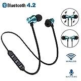 Dewanxin Ears Ear Casque Oreillette Écouteurs Bluetooth Ear Bass Magnétique...