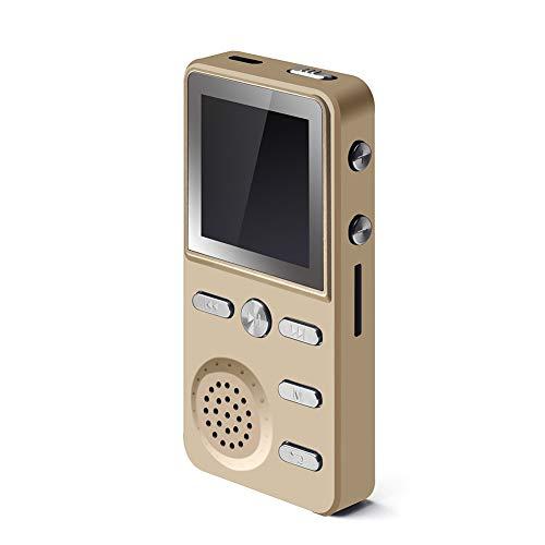 Yehyep Metall 8 GB / 16 GB MP3-Player, verlustfreie HiFi MP3 Sport Musik Multifunktions FM Clock Recorder Stereo-Player mit Kopfhöreranschluss, Unterstützung 32 GB TF-Karte,B,8GB -