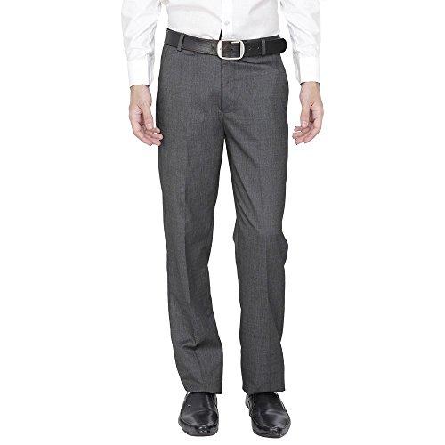 Fizzaro Men's Solid Formal Trouser