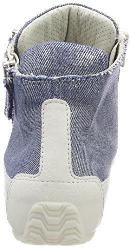 Candice Cooper Crust, Sneaker a Collo Alto Donna Bianco (Bianco)