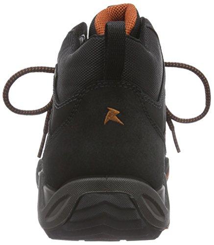 Ecco Ecco Sierra Ii, Chaussures de fitness outdoor homme Noir - Schwarz (BLACK/BLACK/PICANTE)