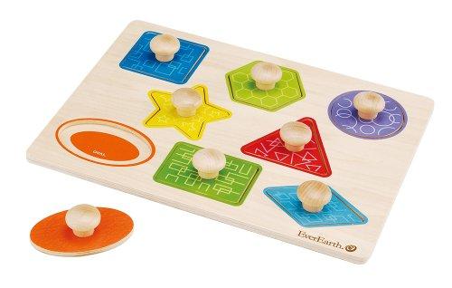 Everearth ee33301 - puzzle forme e colori