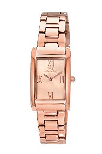 Porsamo bleu karla orologio da donna con cinturino in acciaio inox e cinturino in pelle intercambiabili 961ckas