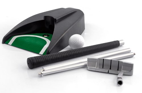 Preisvergleich Produktbild BW® Indoor Golf Set - Ball Return System,  Zinc Alloy Putter, Sharpen Your Putting Kills with This Indoor Golf Set Featuring a Ball Return Machine. Practice at Home,  in Your Office or Entertain Your Guests in a New Way