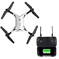 Sedeta 2.4GHz Foldable Aircraft Hover Premium 4CH Drone, USB interface Foldable Quadcopter Stable Gimbal 5Km/h Professional 3D Flips Quadcopters