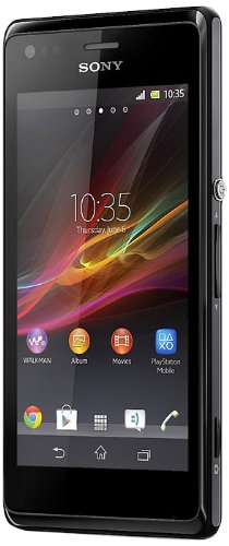 Image of Sony Xperia M Dual-Sim Smartphone (10,2 cm (4 Zoll) Touchscreen, Qualcomm, 1GHz Dual-Core, 5 Megapixel Kamera, 1GB RAM, Android 4.2) schwarz