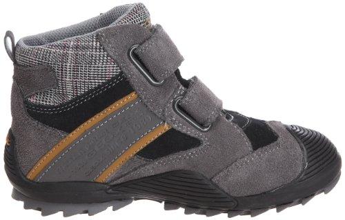 Geox Jr Savage H J2424H, Jungen Sneaker Schwarz