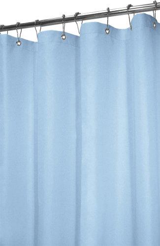 massiv Vorhang für die Dusche, Polyester, blau (French Blue), 72 by 72 ()