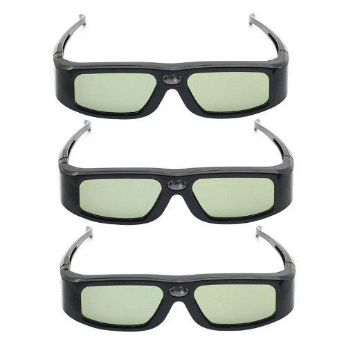 paquet-de-3-sainsonic-zodiac-904-lunettes-3d-serie-active-pour-projecteurs-3d-ready-dlp-acer-nec-ben