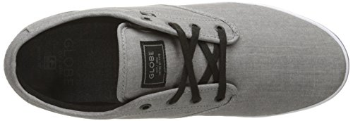Globe Men's Motley Skateboarding Shoe, Grey Chambray, 10 M US Grey Chambray