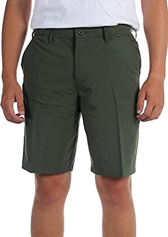 Hurley Dri-Fit Chino Shorts pour hommes, 29, Carbon Green