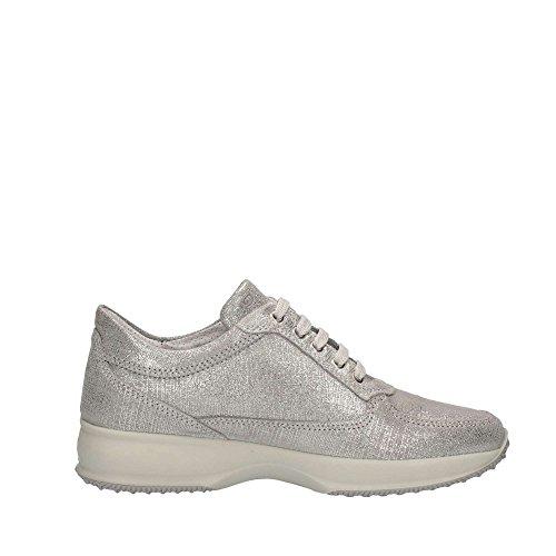 IGI&CO scarpe donna sneakers basse 77668/00 ARGENTO Argento