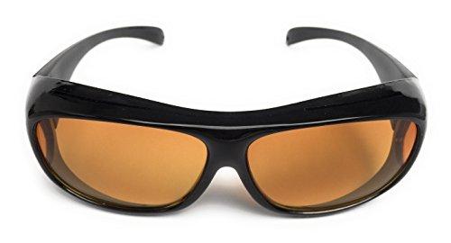 lunettes surlunettes de conduite de nuit tui et pince de rangement homme femme anti. Black Bedroom Furniture Sets. Home Design Ideas