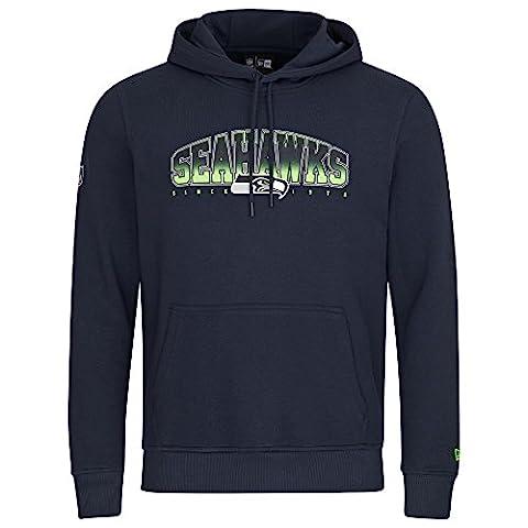 New Era Men Overwear / Hoodie NFL Fan Seattle Seahawks blue S