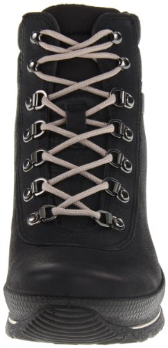 ECCO - Hill Black/black Quarry/textile, Stivali Donna Nero (Schwarz (BLACK/BLACK))