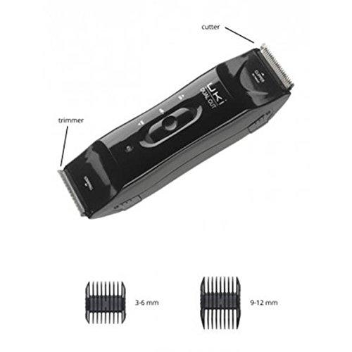UKI Dual Cut schwarzer Haarschneider