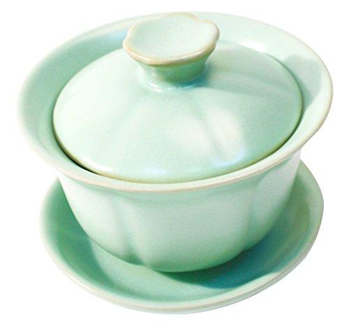 TEASOUL B6021503 Tee-/ Kaffeekannen Herkömmlich Gaiwan, rosa/grün