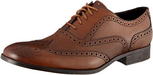 Clarks Herren Gilmore Limit Brogues, Braun (Tan Leather), 45 EU