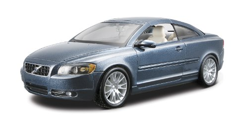 Volvo C70 Coupe scale 1:24 (blue)