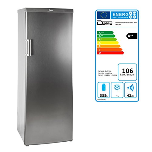 DEMA Großraumkühlschrank DKS 340X A++