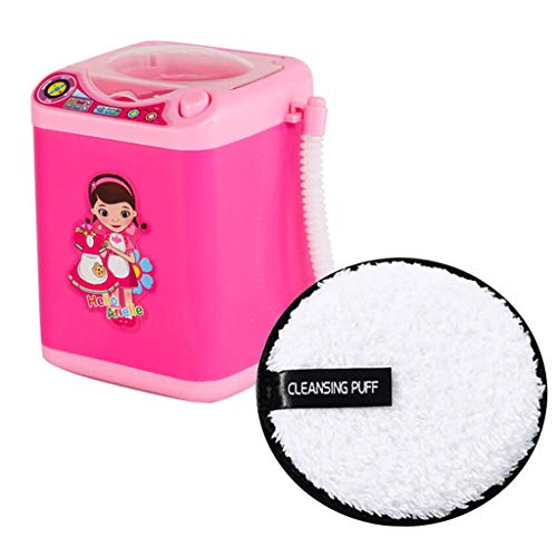 Make-up Pinsel Puff Cleansing Cotton Automatische Reinigung Waschmaschine, Elektronische Mixer Reinigung Make-up Remover, Pinselreiniger Gerät Dehydrator Maschine Mini Toy und Cleansing Puff (#5)