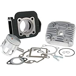 Kit cylindre 70cc AIRSAL Gris fonte Sport pour MBK Booster Naked 50cc, NG, Rocket, Spirit, Track