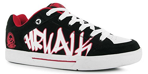 mens-laced-up-graphic-prints-outlaw-skate-shoes-style-11-45-black-red