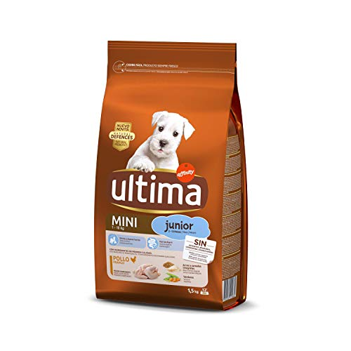 Ultima Pienso para Perros Mini Junior con Pollo - 1.5 kg