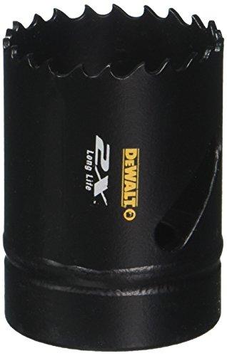 DeWalt Extreme 2X Bi-Metall Lochsäge (40 mm, zum Sägen von Edelstahl, Stahl, Aluminium, Messing, Kupfer, Zink, Blech, Holz, Gips und Kunstsoffen) DT8140L