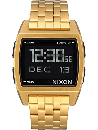nixon-base-38-mm-gold-relojes-unisex