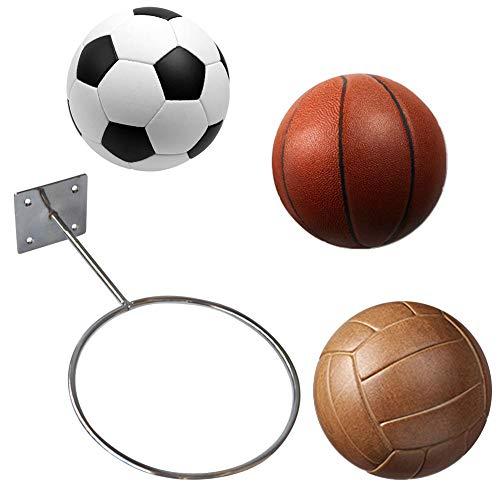 Chalkalon An der Wand befestigte Kugelhalter-Präsentationsständer für Basketball Fußball Volleyball Gymnastikball Lagerregal -