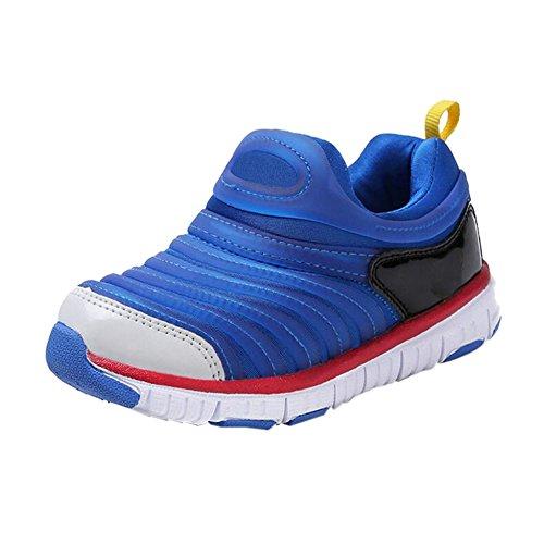 Haodasi Fashion Kinder Casual Sport Laufen Breathable Kleinkind Elastizität Turnschuhe Blue