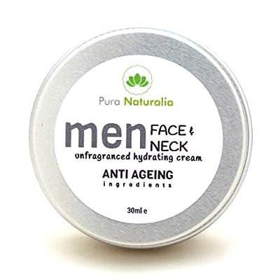 Men Face & Neck Cream.anti-ageing.anti-wrinkle.non-greasy Moisturising Cream- Vegan- 30ml E