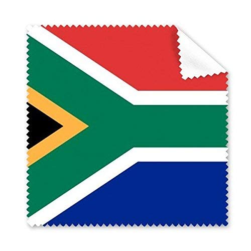 CFHJN Home Südafrika Nationalflagge Afrika Land Symbol Mark Pattern Glas Tuch Reinigungstuch Telefon Bildschirmreiniger
