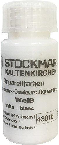 Stockmar acquarello 20cc monocromatica (bianco)