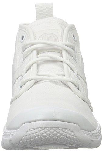 Palladio Unisex Adulto Pallaville Hi Deux Sneaker Bianco (bianco / Bianco / Bianco)