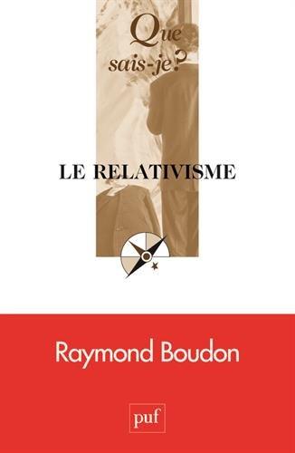 Le relativisme