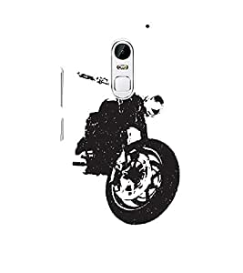 Stylish Bike 3D Hard Polycarbonate Designer Back Case Cover for Lenovo Vibe X3