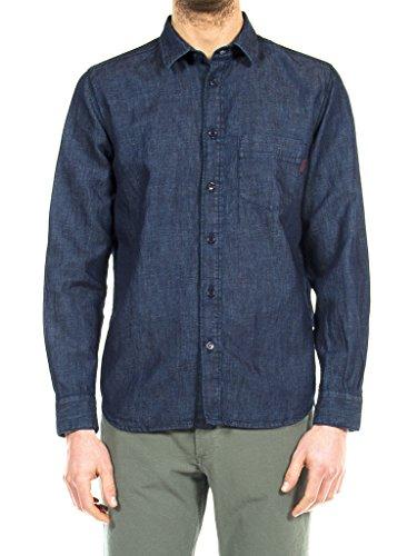 435edc5ad2 Carrera Jeans - Camicia Jeans T213A1035A per uomo, vestibilità normale,  manica lunga 100 -