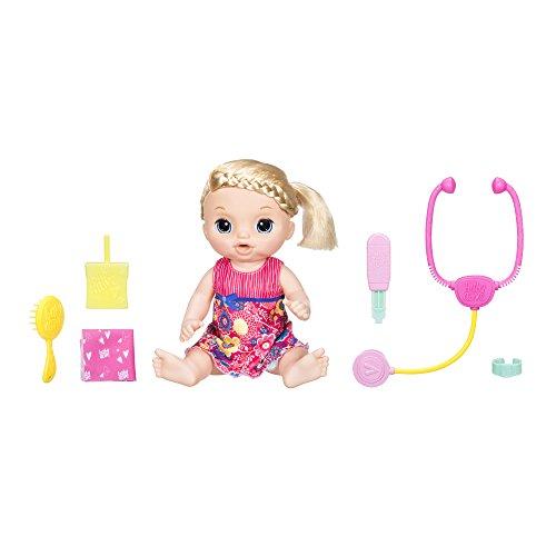 Hasbro Baby Alive C0957100 - Baby Schnupfnäschen, Puppe (Puppe Baby Alive Hasbro)