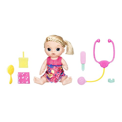 Hasbro Baby Alive C0957100 - Baby Schnupfnäschen, interaktive Babypuppe (Interaktive Baby Puppe Alive)