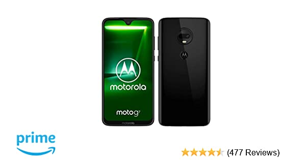 motorola moto g7 6 24-Inch Android 9 0 Pie UK Sim-Free Smartphone with 4GB  RAM and 64GB Storage (Dual Sim) – Black (Exclusive to Amazon)