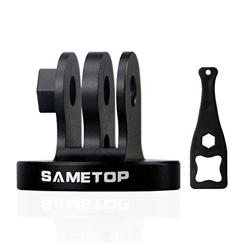 Sametop Alulegierung Kamera Zubehör Tripod Mount Adapter Stativadapter für GoPro Hero 6, 5, 4, Session, 3+, 3, 2, 1 Kameras