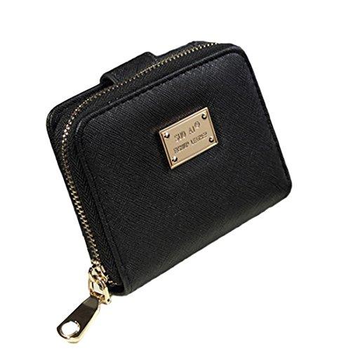 Amlaiworld Donne borsa pochette portafoglio breve piccola borsa titolare della