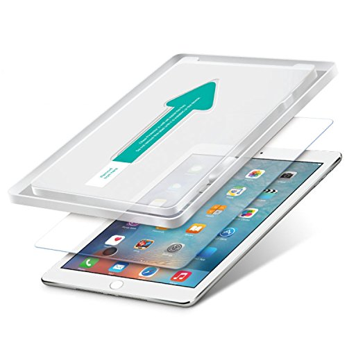 Power Theory Schutzfolie passend für iPad Pro 9.7 / Air 2 9,7 / Air (2 Stück) - Japanisches 9H Panzerglas/Panzerglasfolie, Tempered Glass Displayschutzfolie, Schutzglas, Panzerfolie, Screen Protector