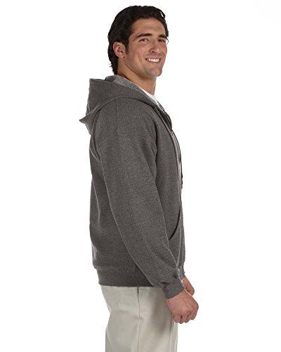 Gildan - Felpa con Cappuccio Stle Vintage - Uomo Tweed