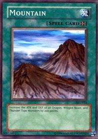 Yu-Gi-Oh! - Mountain (SKE-034) - Starter Deck Kaiba Evolution - Unlimited Edition - Common by Yu-Gi-Oh!