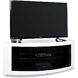 Centurion Supports Pangea Beam-thru incurvé Tru-corner 32& # Xfffd; -55& # Xfffd; Meuble TV